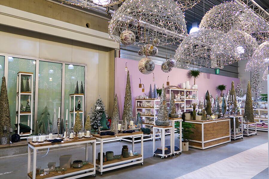 Groothandel kerstdecoratie & accessoires in cash & carry locatie
