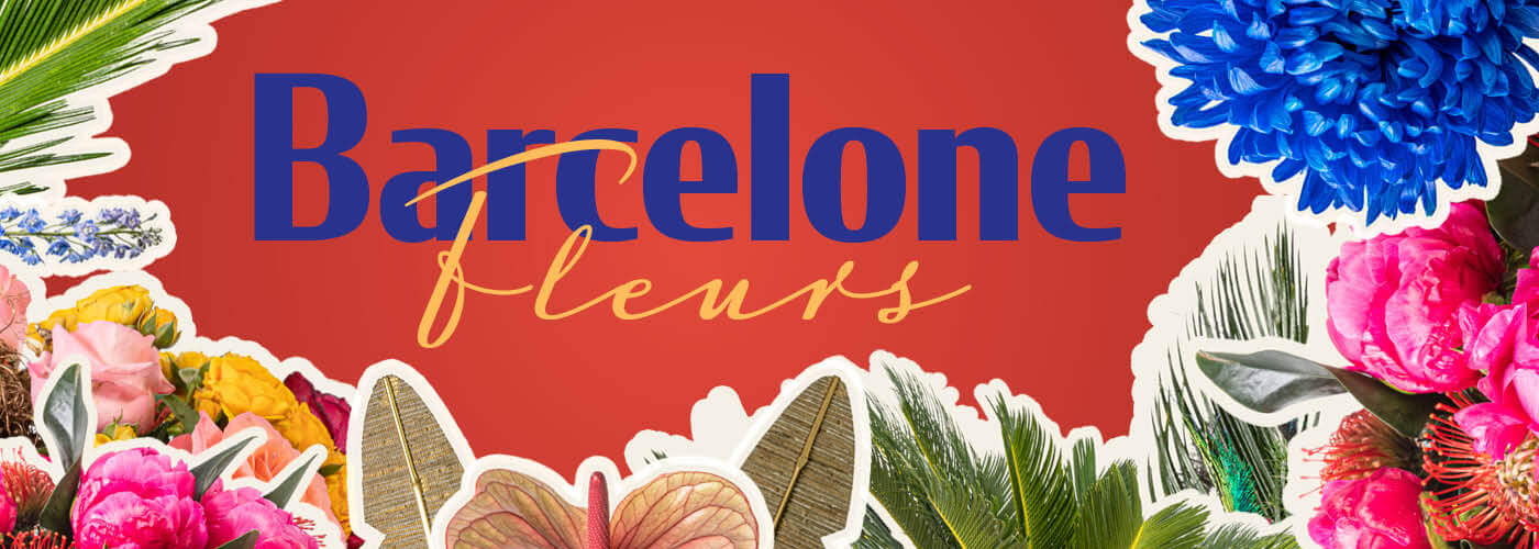 BARCELONE FLEURS