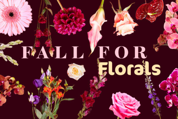 FALL FOR FLORALS