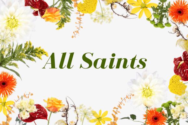 All Saints grid banner